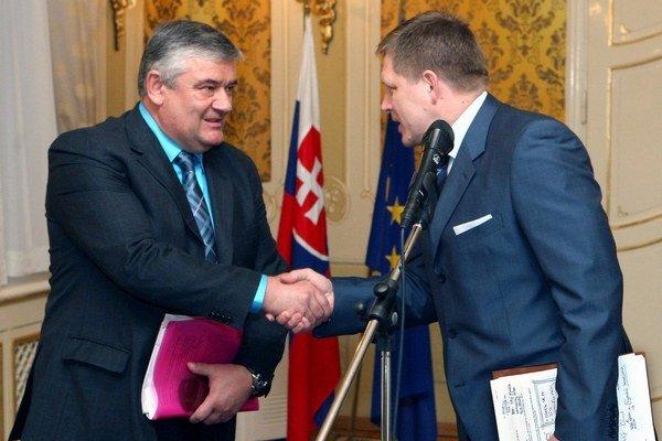 Emisie predali, keď Robert Fico vládol s Jánom Slotom.