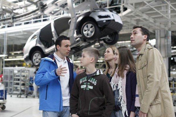 Volkswagen núka pohľad na svoje linky aj ako atrakciu.
