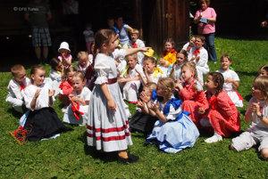ILUSTRAČNÉ FOTO Detský folklórny súbor Turiec Martin.