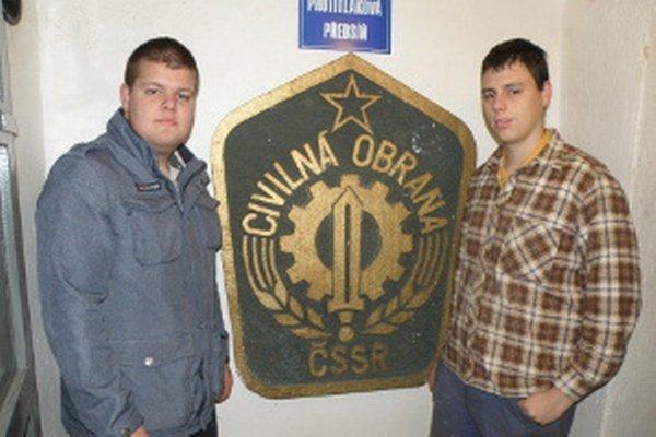 Michal Patoč a Robo Trýzna sa vo voľnom čase venujú civilnej ochrane.