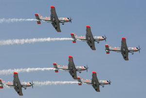 Poľskí letci boli na leteckých dňoch vlani.