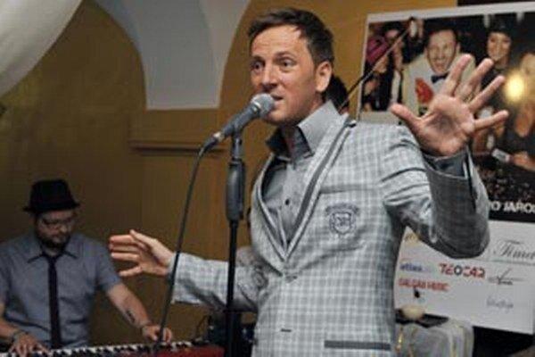 Miro Jaroš bude v Zemianskych Kostoľanoch 22. novembra o 15. h hosťom súťaže Krištáľová váza.