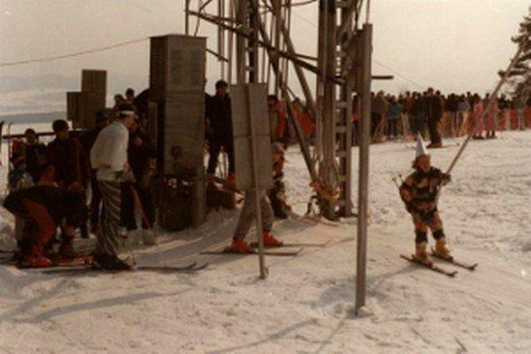 Kedysi porubské stredisko lyžiari hojne navštevovali.