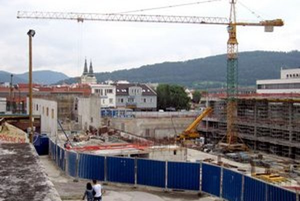 Výstavba Auparku v Žiline je predmetom sporov už niekoľko rokov.