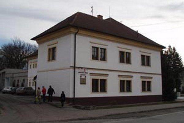 Mestský úrad Nováky.