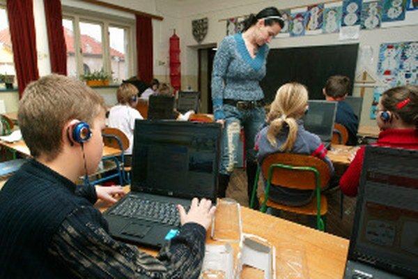 V niektorých školách sú už notebooky bežnou súčasťou vyučovania.
