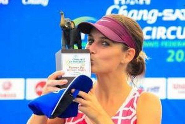 Tenistka Zuzana Zlochová bodovala v Thajsku.