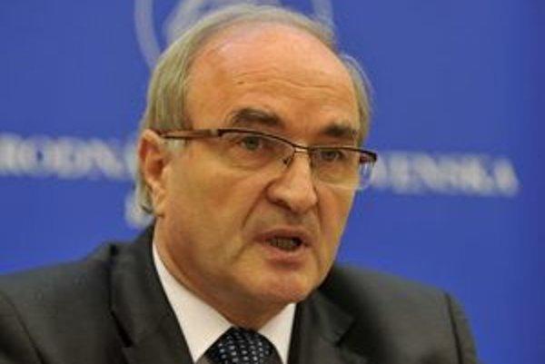 Guvernér NBS Jozef Makúch.