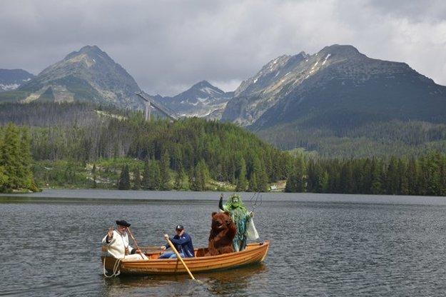 Tatry sú tradičný cieľ turistov.