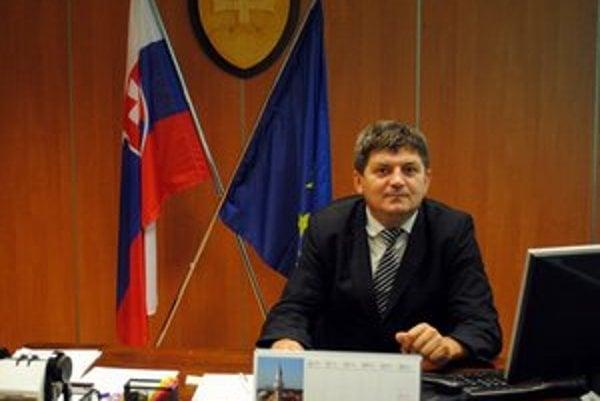 Peter Sokol. Staronový prednosta obvodného úradu.
