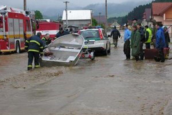 Aj Starú Ľubovňu a okolie postihli v roku 2010 katastrofálne záplavy.