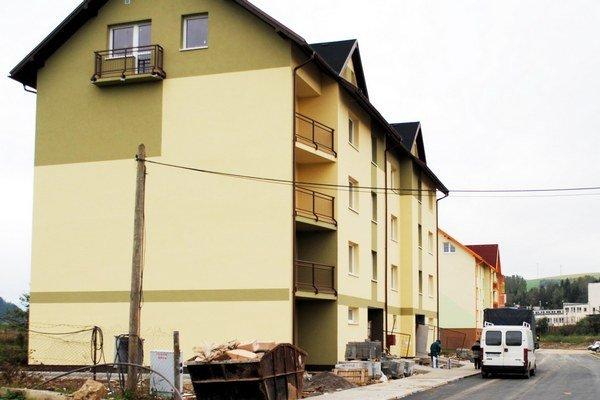 Plánovaná výstavba. Byty chcú umiestniť na sídlisku Východ.