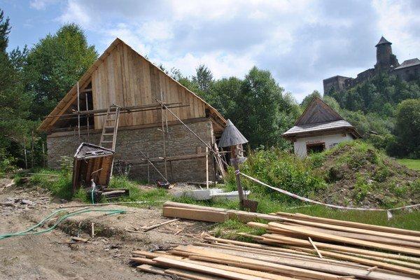 V skanzene bude stáť hospodárska budova z Ruskej Vole.
