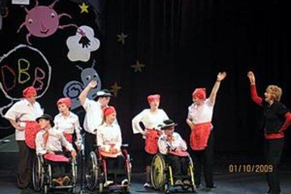 Vystúpenie. Deti vystúpili na podujatí v Prešove prvýkrát. Úspešne.