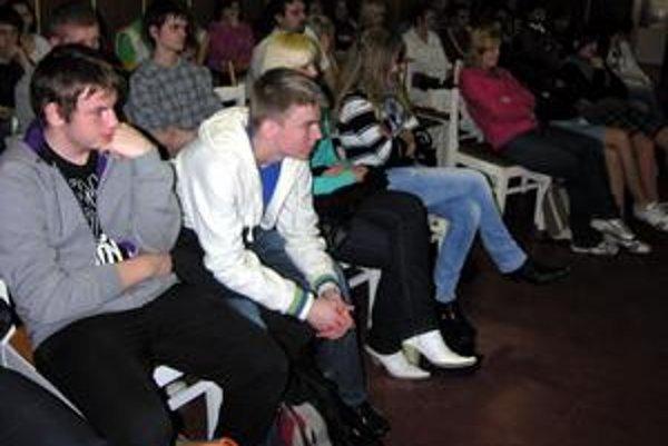 Prednášky. Vypočuli si ich študenti staroľubovnianskych stredných škôl