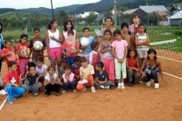 Zabavili sa. Deti sa vyšantili hlavne pri športových hrách.