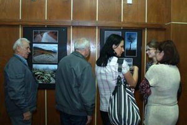 Výstava prilákala návštevníkov.