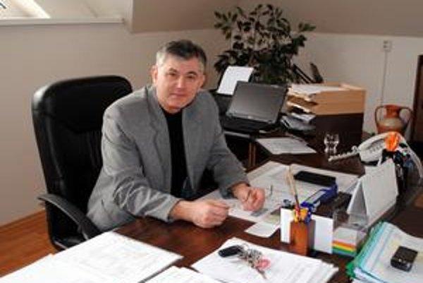 Anton Karniš. Prednosta sa ujal funkcie na sklonku uplynulého roka.