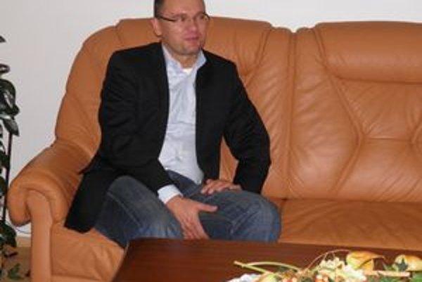 Richard Sulík. Počas návštevy v Starej Ľubovni bol ešte platným predsedom parlamentu.