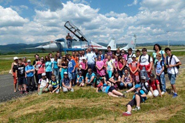 Výlet si užili školáci a škôlkari z Chrenovca-Brusna.