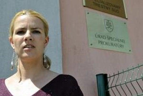 Katarína Kudjaková zo Špecializovaného trestného súdu – absolútna víťazka súťaže Hovorca roka.