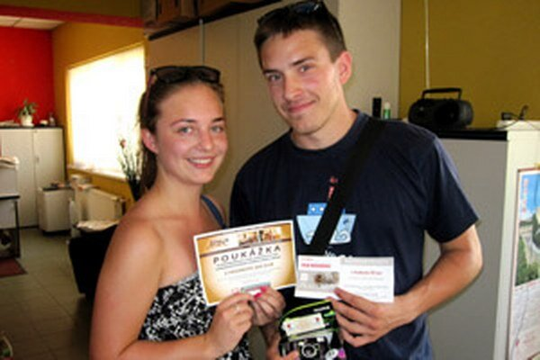 Anežka a Michal vyhrali súťaž s dvestobodovým náskokom.