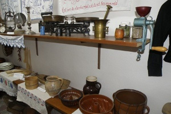 Múzeum v Nedožeroch-Brezanoch predstavuje aj predmety z gazdovských domov.