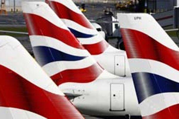 Zisk British Airways sa prepadol.