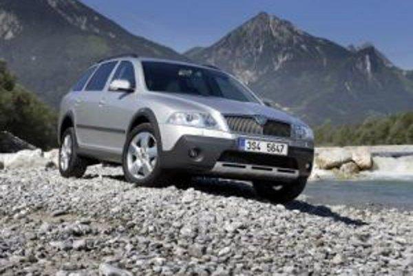 Mladoboleslavskej automobilke robí radosť najmä predaj modelu Octavia.