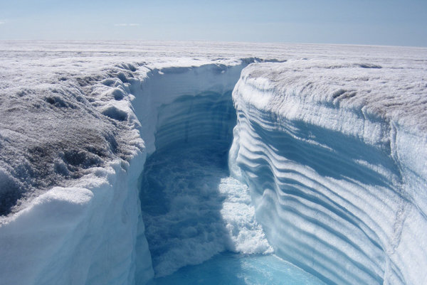 Topiaci sa ľadovec v Grónsku