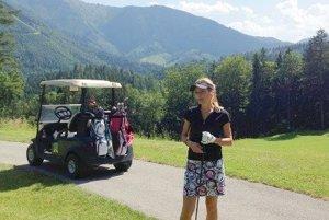 Na golfovom ihrisku