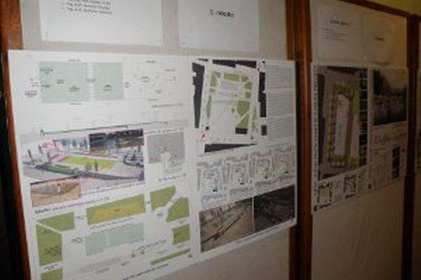 Súťažné návrhy z architektonickej súťaže sú do 16. decembra vystavené v Dome kultúry v Prievidzi.