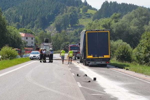 Nehoda, našťastie, neskončila tragicky