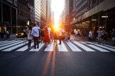 Manhattanhenge: New York uchvacuje západ slnka