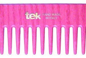 Drevený ručne robený hrebeň pre šetrné a ľahké rozčesávanie, Tek, 11,96 €