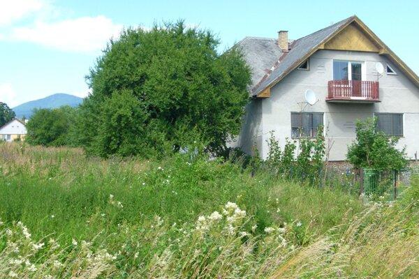 Murínovci majú vedľa svojho domu hotovú húštinu.
