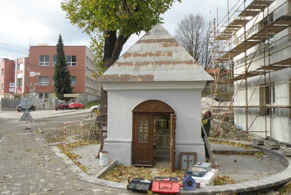 Kaplnka bude onedlho zrekonštruovaná.