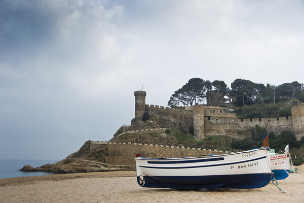 Tossa de Mar na španielskom Costa Brava.