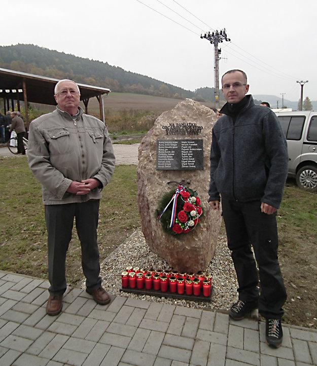 Rudolf Migila (vľavo) so Štefanom Žilovcom.