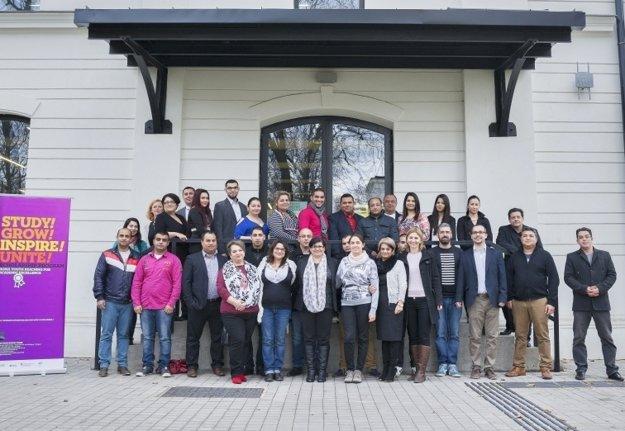 V Košiciach sformovali nový tím rómskych štipendistov.