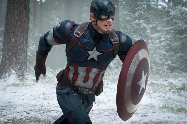 Kapitán Amerika.