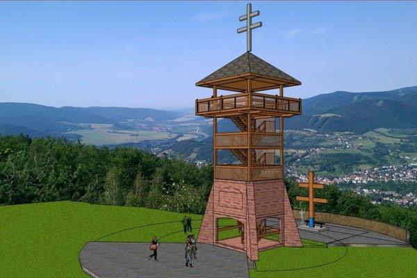 Šešť metrová železobetónová spodná časť veže je už postavená.