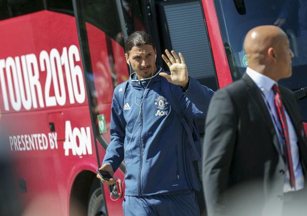 Zlatan Ibrahimovič.