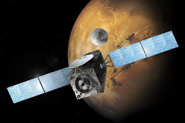 Vizualizácia misie ExoMars.