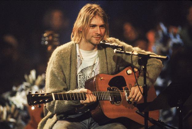 Kurt Cobain v relácii MTV Unplugged.