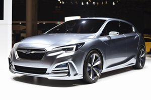 Koncept Subaru Impreza
