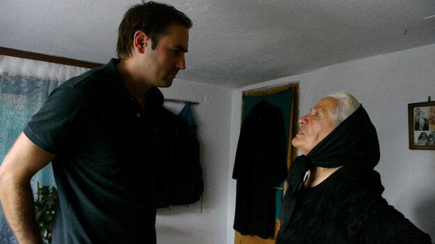 Marko Sladojevič sa počas procesu stretával s príbuznými obetí.
