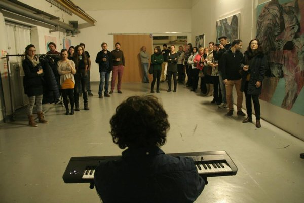 Koncert v Ateliéri Nová Vlna.