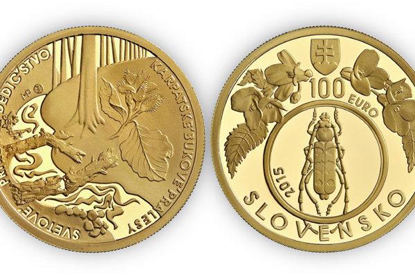 Takto vyzerá špeciálna zberateľská minca.