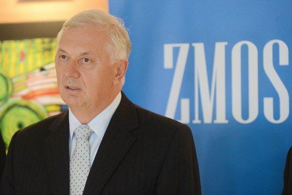 Predseda Združenia miest a obcí Slovenska Michal Sýkora.